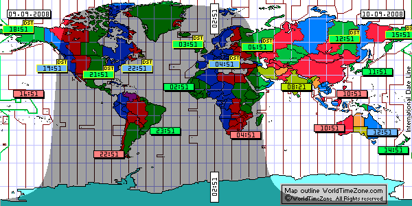 Sunclock from worldtimezone shows earth day night regions sunclock from worldtimezone shows earth day night regions and standard time zones gumiabroncs Images